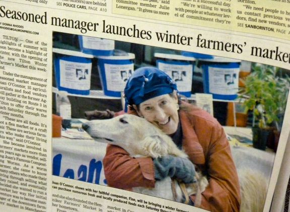 Tilton Winter Farmers Market News Clip