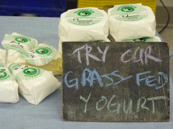 Brookford Farm Cheese at the Tilton Winter Farmers Market